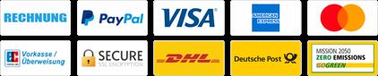 Zahlungs- und Versandarten für Ihre Werbeartikel