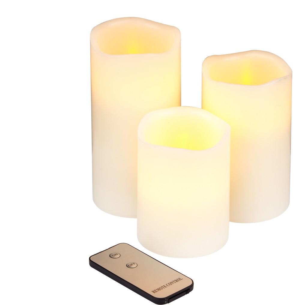 LED Kerzen Set ...mit Logo bedrucken