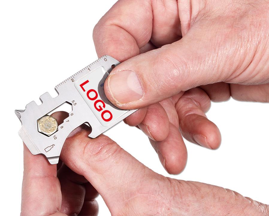 Mini Tool Card  als bedrucktes Werbegeschenk