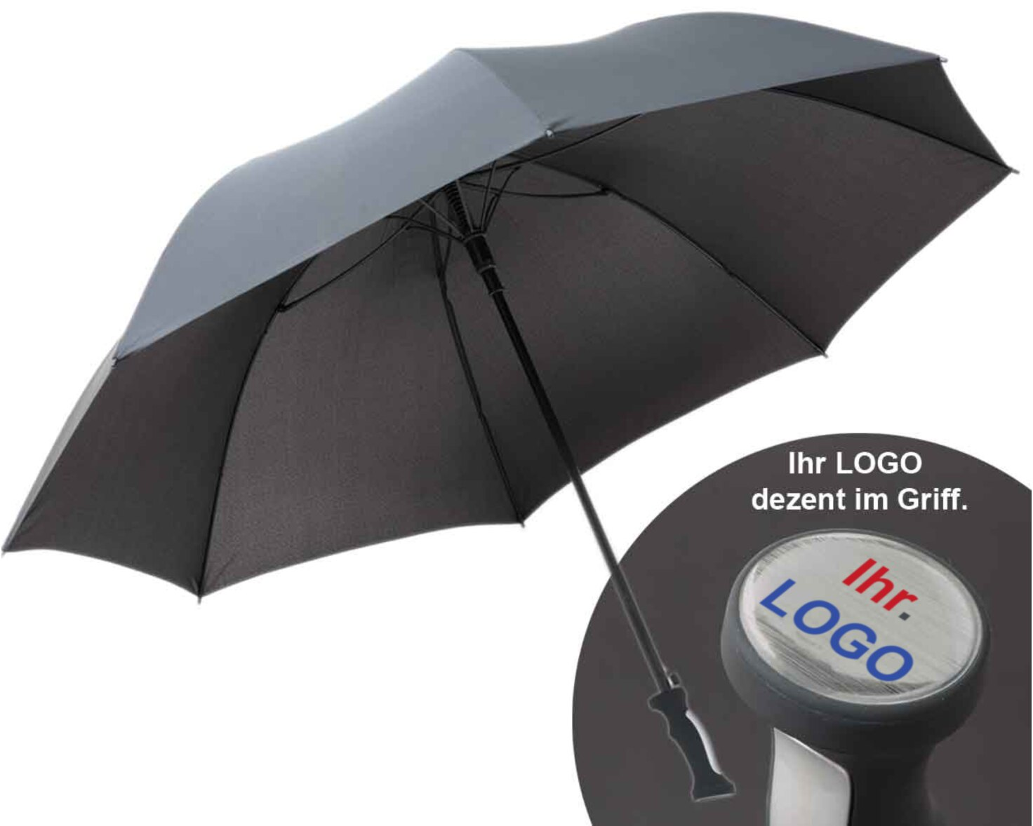 Golf Schirm mit Logo