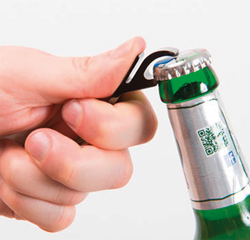 Flaschenöffner Chrom