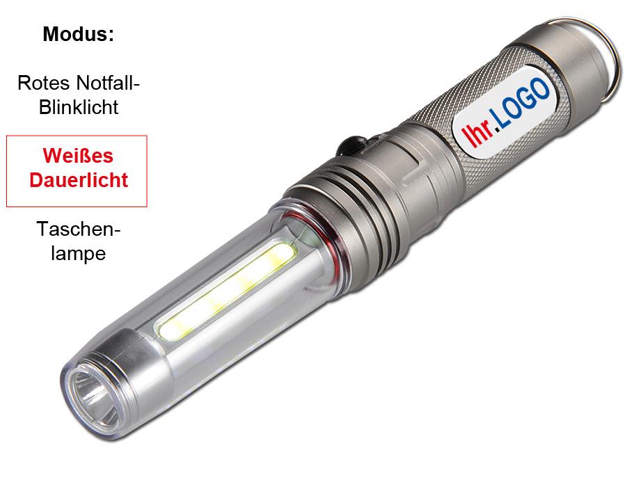 LED-Sicherheits Leuchte Dome als gravierter Werbeartikel