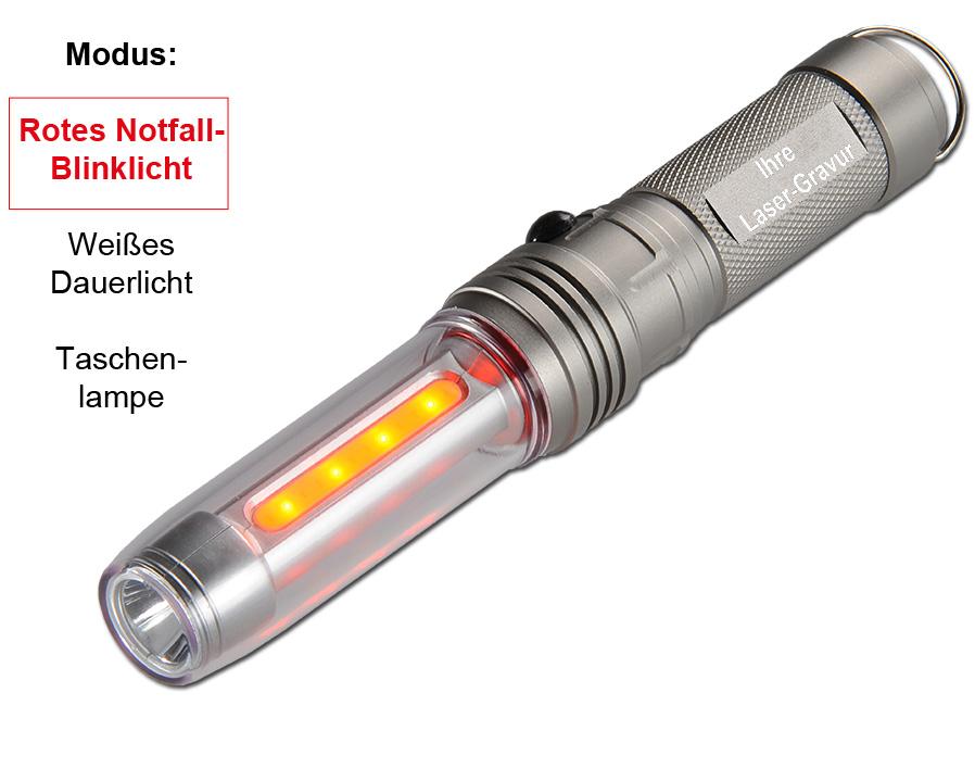 LED-Sicherheits Leuchte ...mit Logo gravieren