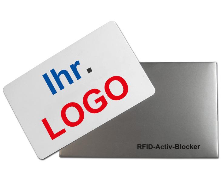 RFID-Active Blocker Card mit Logo