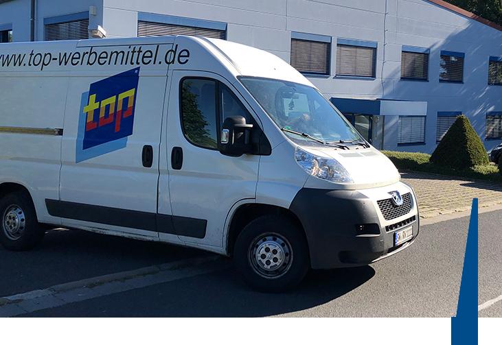 TOP Werbemittel Fahrzeug