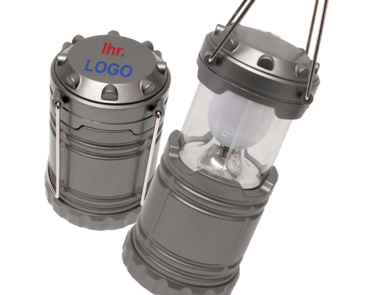 Outdoor LED Lampe als bedrucktes Giveaway