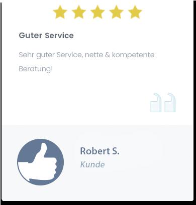 Guter Service bei TOP